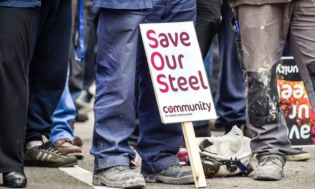 crisis of steel industry