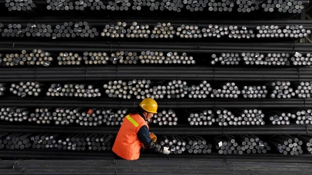 steel bars reuters