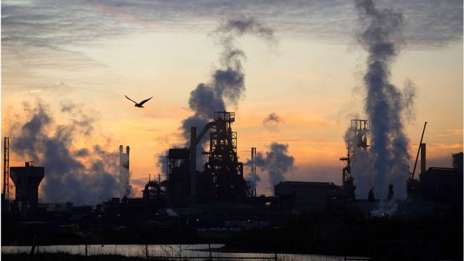 tata says global steel industry vulnerable